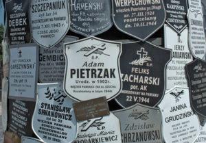 10 Pewiack Prigione nazista di Pewiack. Nomi dei prigionieri polacchi