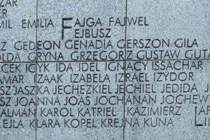 9 Memoriale-Umschlagplatz-Nomi propri degli ebrei