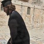 Prete ortodosso copto della Basilica del Santo Sepolcro